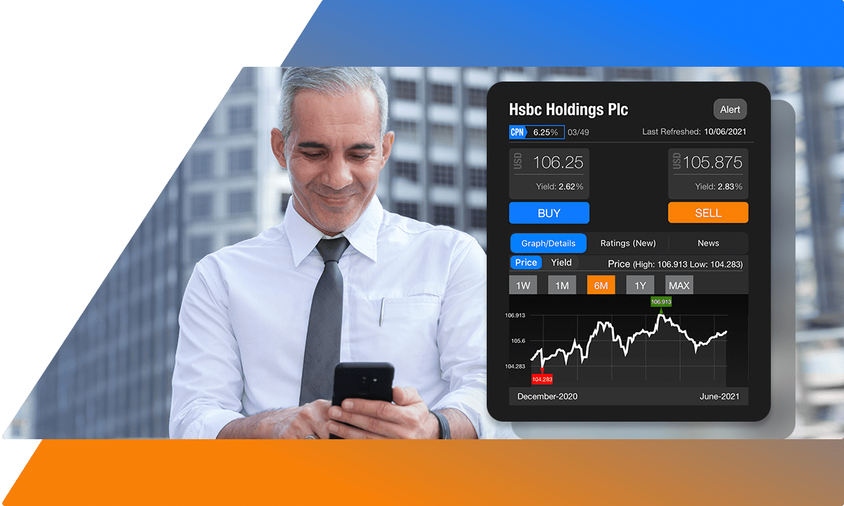 Access bond prices anytime anywhere using the BondEvalue App
